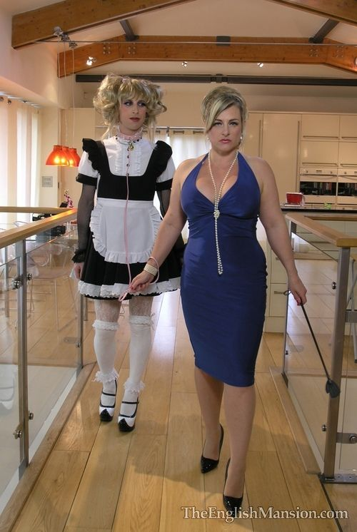Degraded blond is trained to worship balls and eat ass 10