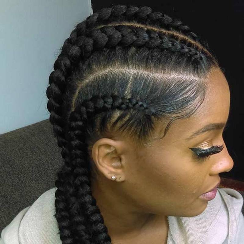 Ghana Hairstyles Ghana Braids  Updos Cornrows Jumbo & Ponytail  Nowadays Ghana