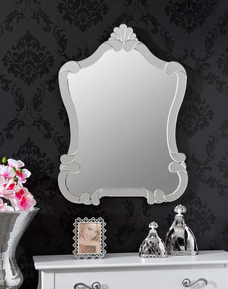 Espejo de cristal moderno Tomene | espill | Pinterest | Espejo ...