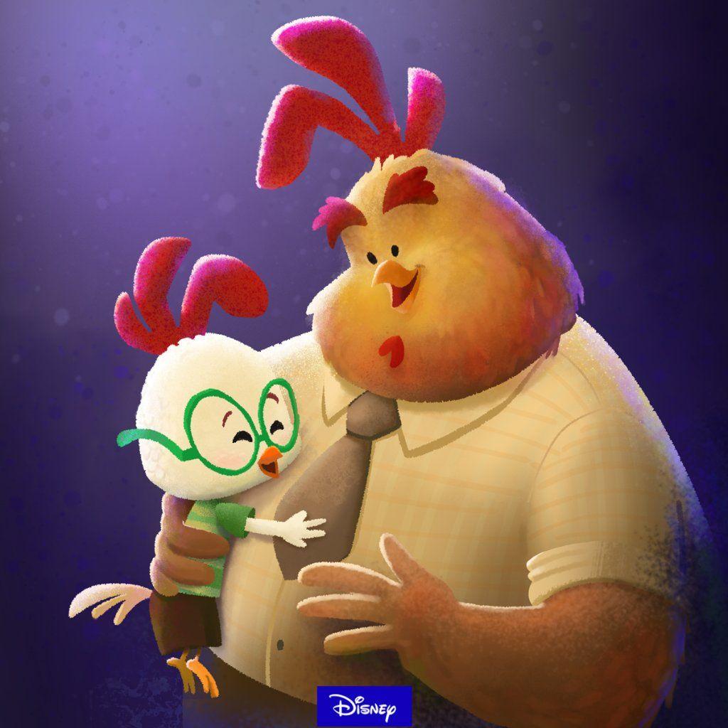 Disney On Twitter Chicken Little Disney Disney Animals Disney [ 1024 x 1024 Pixel ]