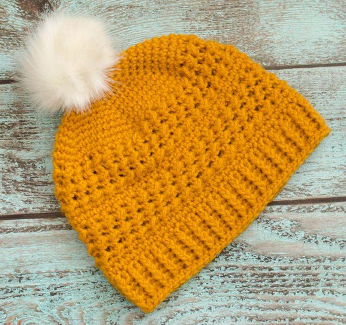 Great Lakes Beanie Crochet Pattern | Ropa