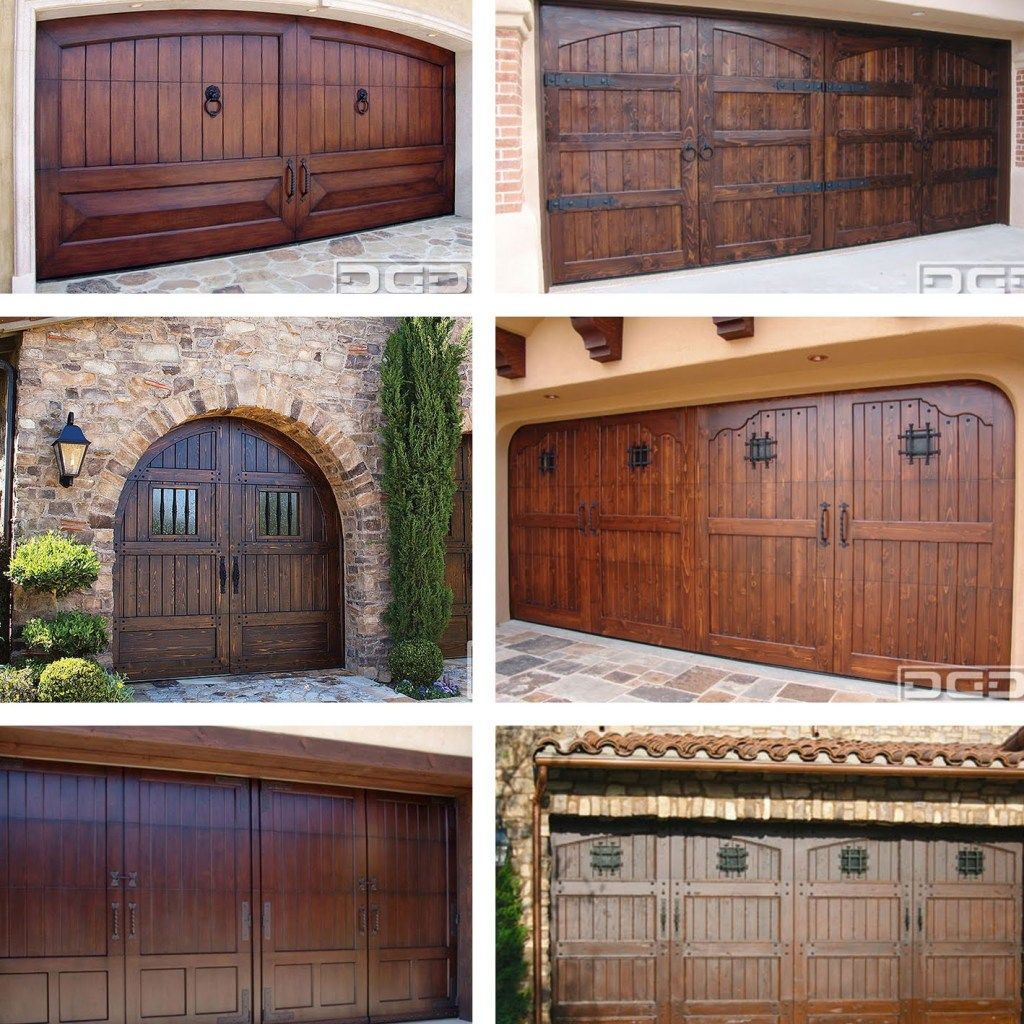 1000 Ideas About Wood Garage Doors On Wardloghomes Garage Doors With