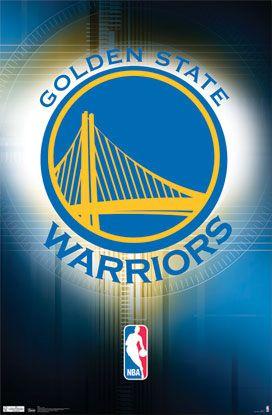 Golden State Warriors Official NBA Team Logo Poster - Costacos Sports 939a196cca4