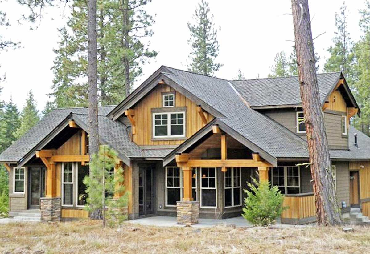 Plan 23483JD: Marvelous Mountain Home In 2019