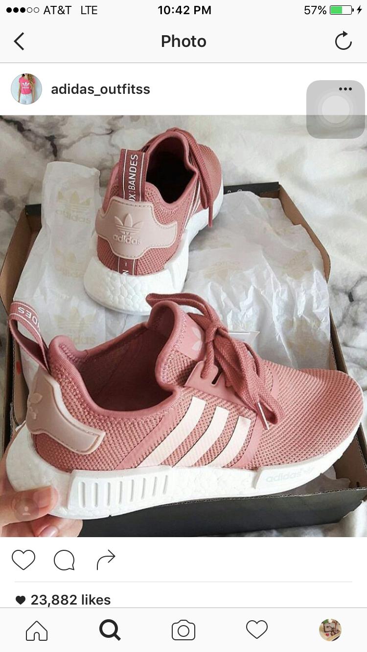 608ef5b0ef Light Pink Adidas Shoes, Rose Gold Addidas Shoes, Cute Addidas Shoes, Adidas  Shoes
