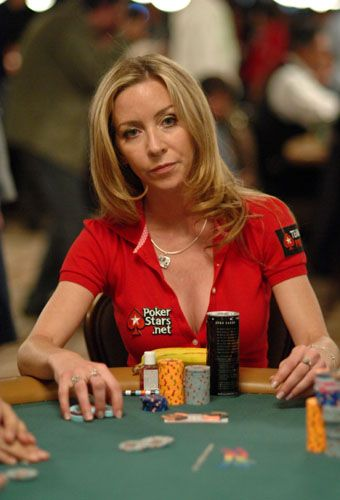 Isabelle Mercier Professional Poker Player Beautiful Athletes Poker Card Games
