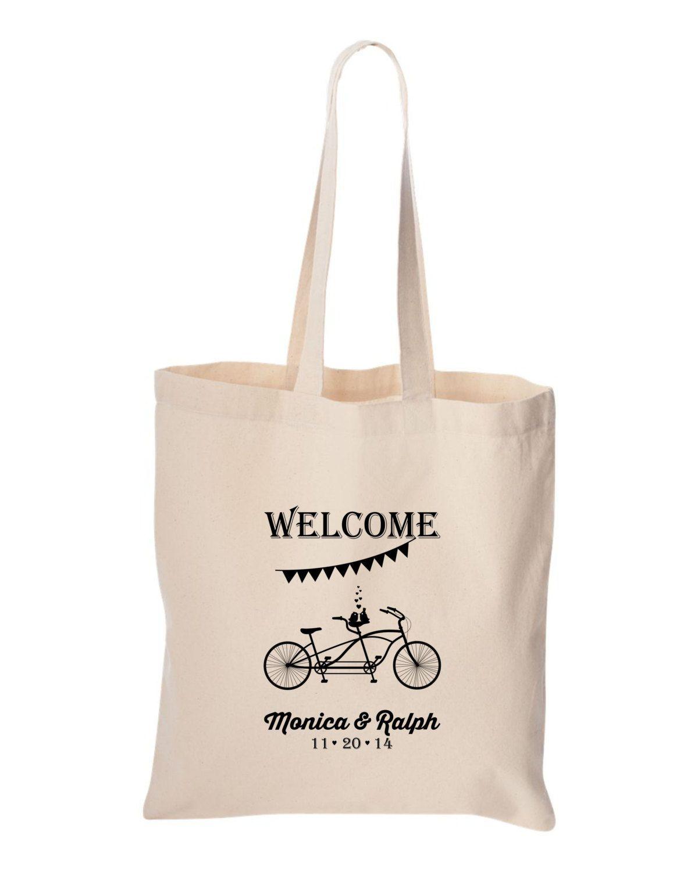 Wedding welcome bag Bulk order Personalized Wedding Welcome bike ...