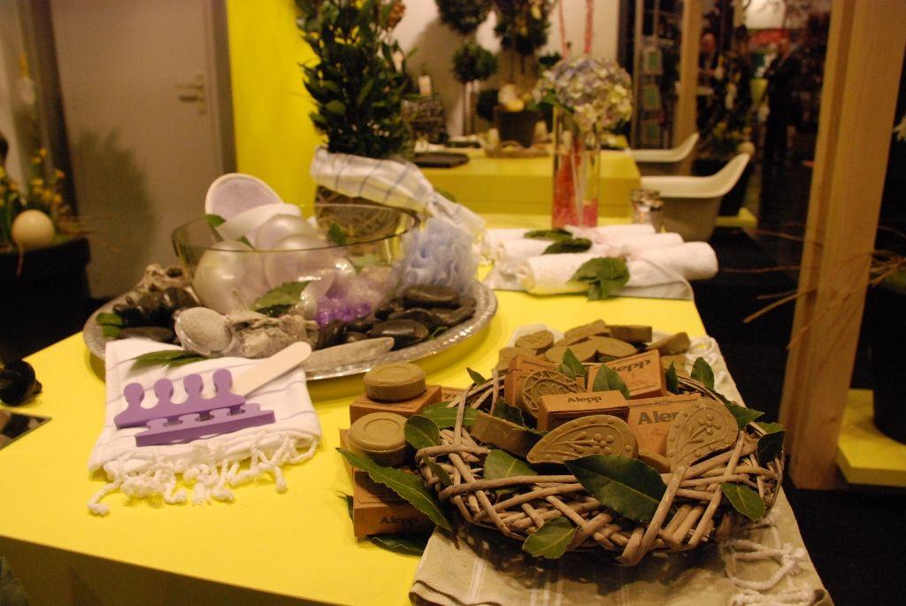 Laurus nobilis (bay tree, bay laurel) with Easter decoration