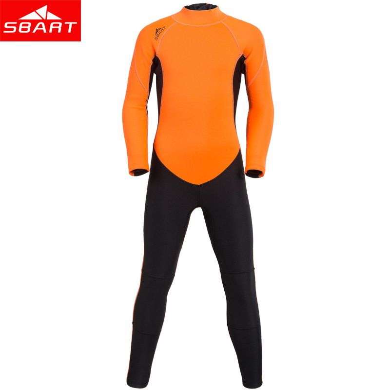 Cheap kids wetsuit, Buy Quality surfing wet suits directly from China wet suit Suppliers: SBART New 2mm Neoprene Kids Wetsuit Swimwear One-piece Long Sleeved Dive Surfing Wet Suit Child Sunscreen Warm Bating Clothing K