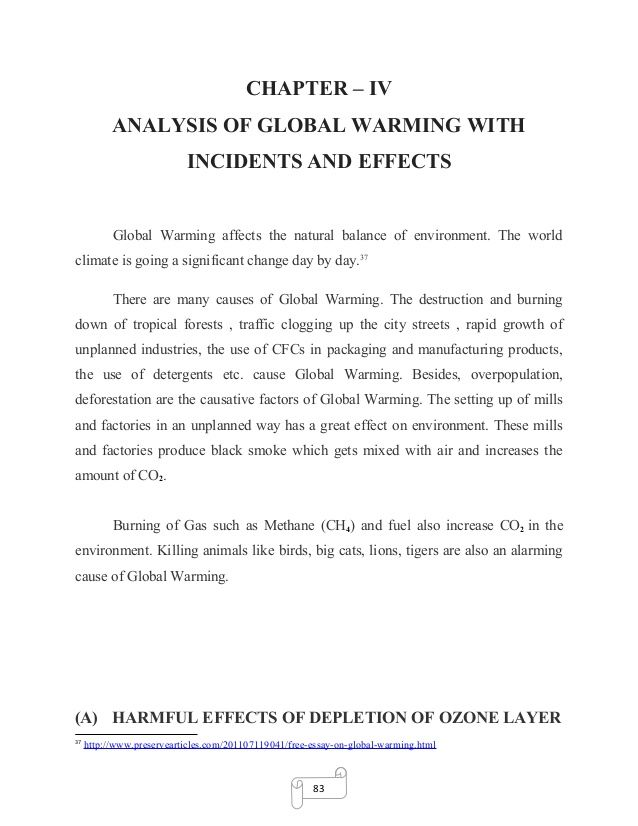 Good How To Stop Global Warming Essay Dissertation On Environmental Pollution  And Global Warming 27