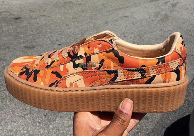 reputable site 7531e 9a0db New Rihanna x PUMA Creepers in Camo Coming Very Soon | that ...