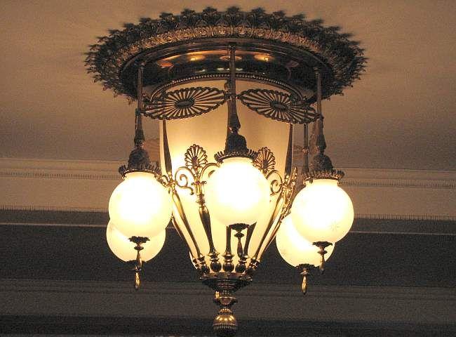 Edison Light Fixture In Seelye Mansion Abilene Lighting