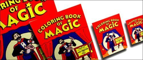 Magic Coloring Book By Rock Ridge Magic 8 44 A Full Size Coloring Book Is Shown Blank And Amazingly Pictures Appear From Nowhere Coloring Books Magic Books