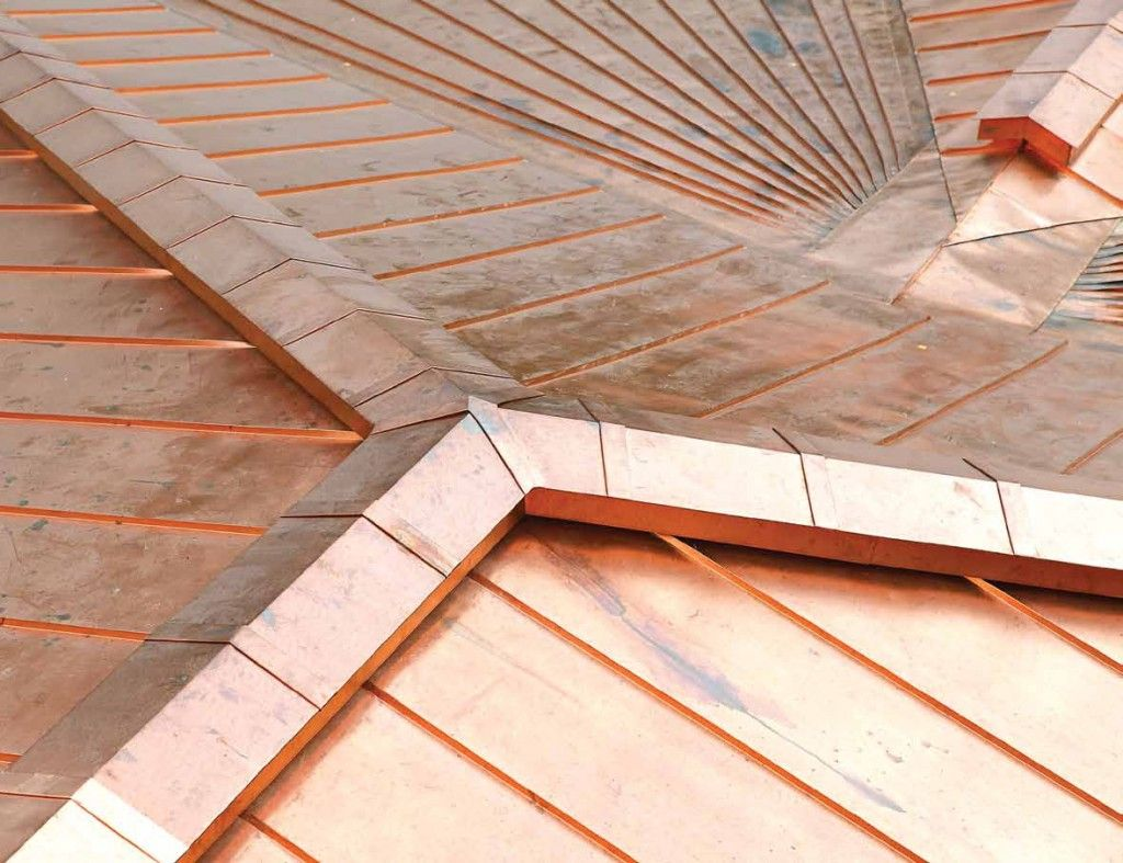 Pin By Bartholomew Sevier On Handyman Metal Roof Copper Roof Roof Design