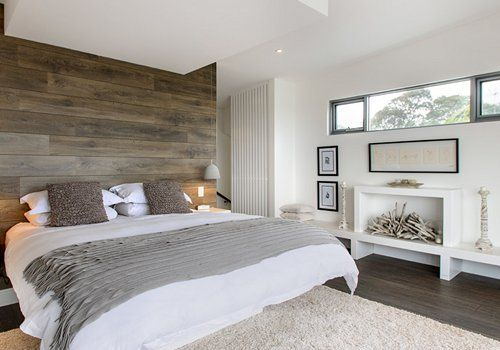 You Can Put Laminate Flooring On A Wall For A Stunning Accent Wall