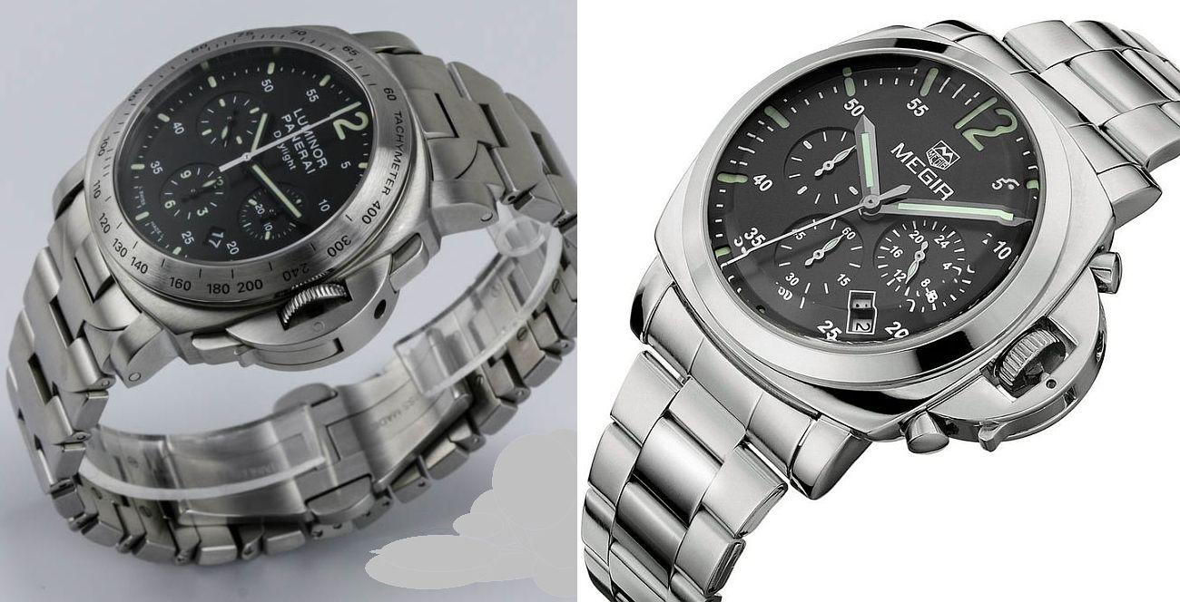 d8763b6b50dae1 Panerai Luminor vs Gosasa Megir Panerai Luminor, Expensive Watches, Omega  Watch, Bracelet Watch