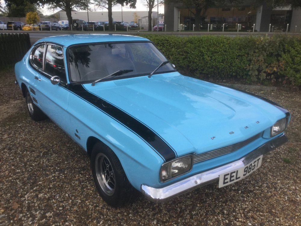 1978 Ford Capri 3000 Gt For Auction With An Estimate Of 13 500 15 500 Love Classic Cars Please Follow Us N In 2020 Ford Capri Classic Cars British Classic Cars