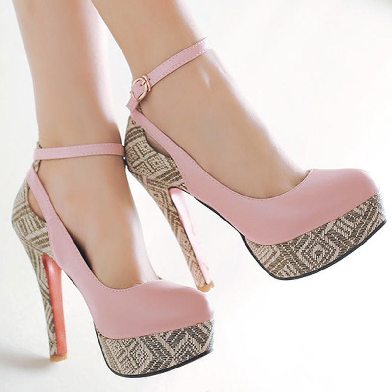 Small and BIG Size 33-46 Ultra High heels 13 cm Fashion sexy shoes ...