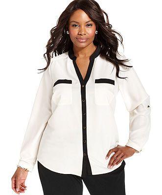 24677a61b6164 Elementz Plus Size Shirt