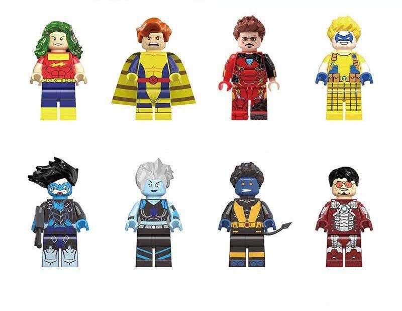 TYPE  MINI FIGURINES LEGO FILM MARVEL X MEN BANSHEE