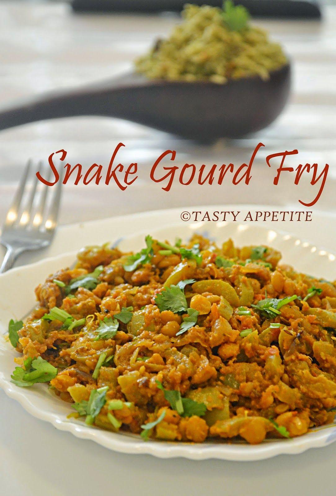 Snakegourd Curry-Pudalangai Poriyal-Snake Gourd Stir Fry ...