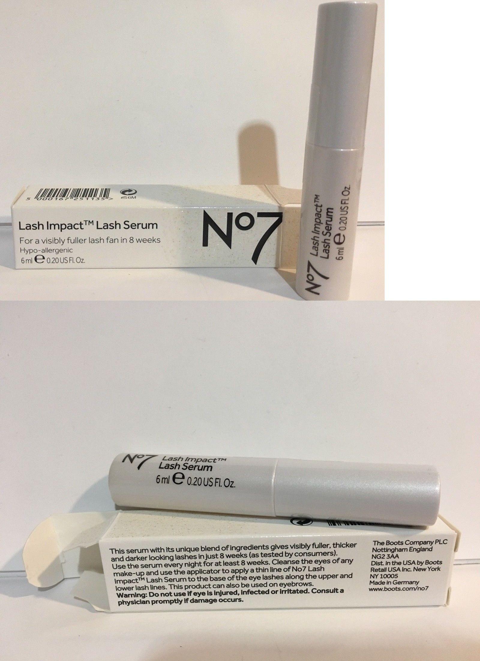Boots No 7 No7 Lash Impact Lash Serum Replaced Fenomenal Serum 02oz
