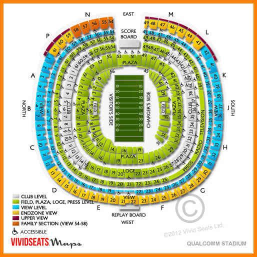 6 qualcomm stadium seating chart cashier resumes pics