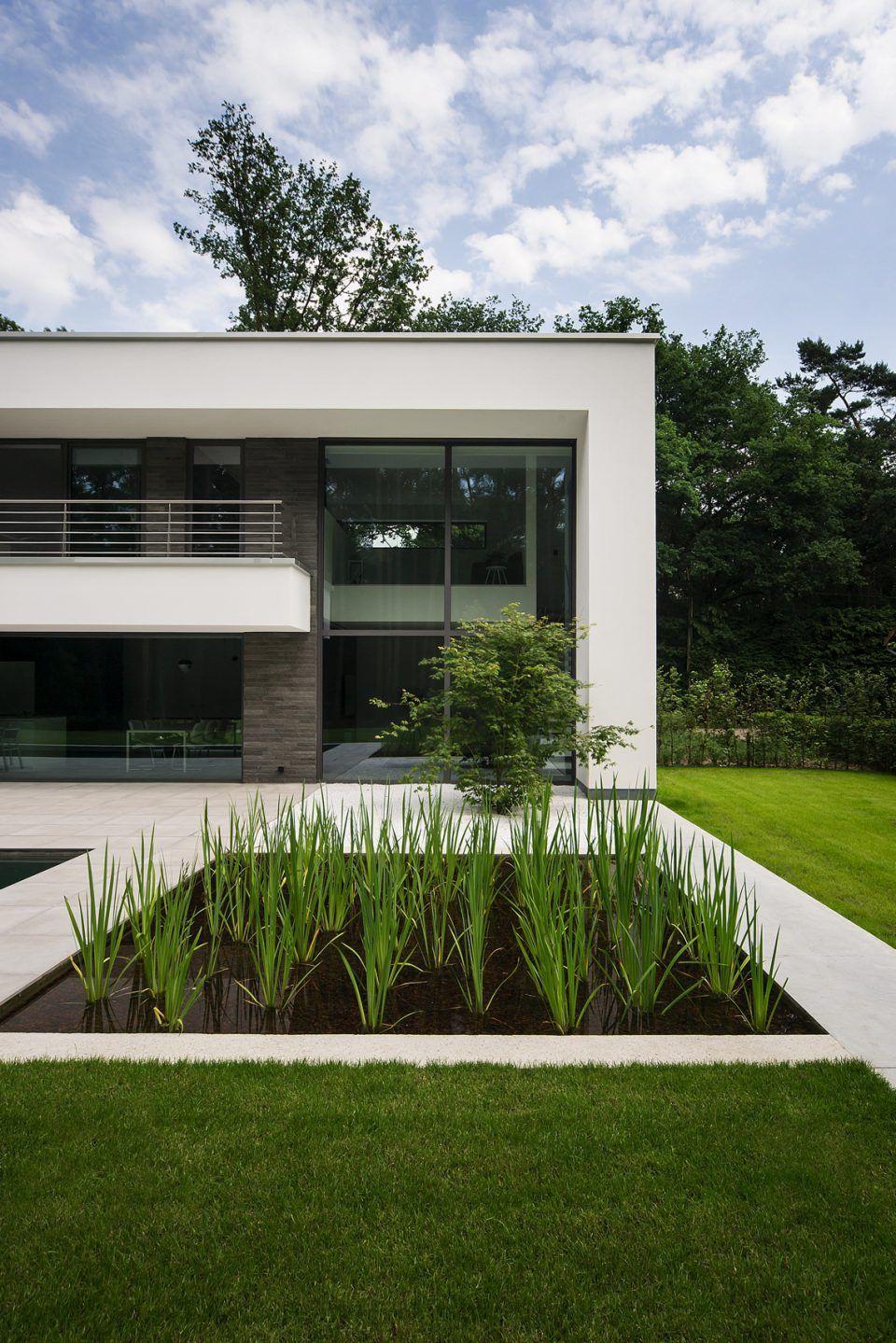 imore interieur architectuur - Moderne villa Antwerpse Kempen ...