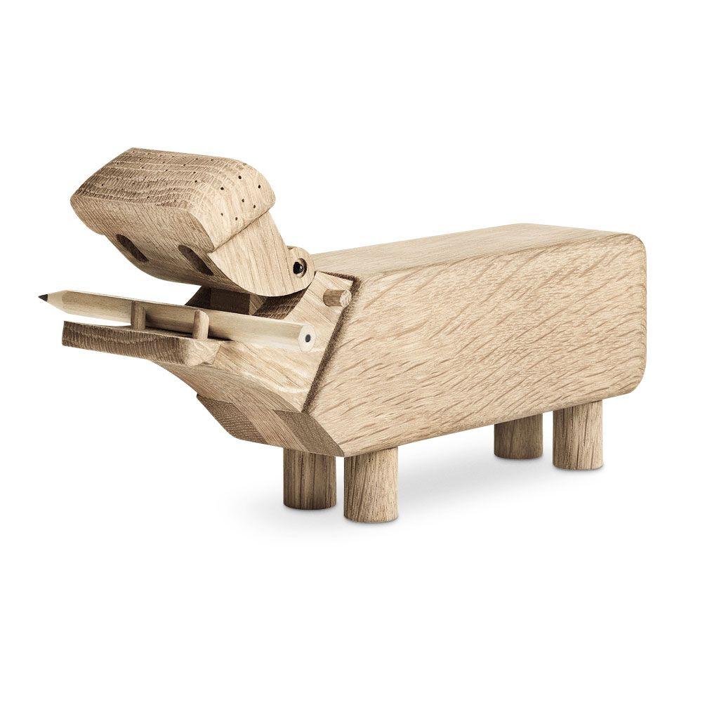 Kay Bojesen – Nilpferd HIPPO – decorative design-Holztier a …