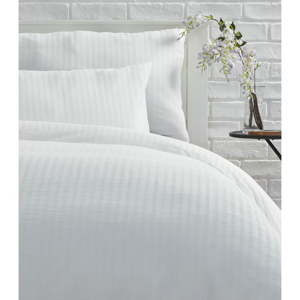 superking cover the seersucker linen company duvet pure brandalley set ivory