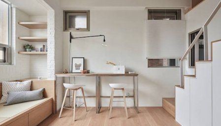 A Minimalist, Stylish Home That Fits Into 22-Square-Meter Micro ...