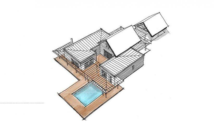 Maison OSSATURE BOIS à étage 184 m² 5 chambres Pinterest House - exemple devis construction maison