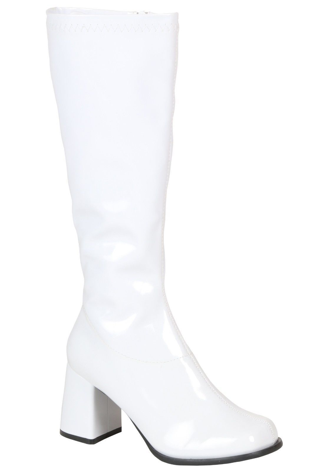 46626dae096 Girls White Gogo Boots 70's - Size Child 2 And 3 (Run Small ...