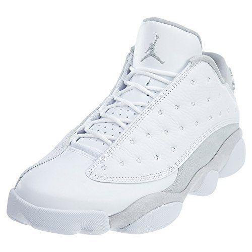 Jordan Mens Air 13 Retro Low WHITE