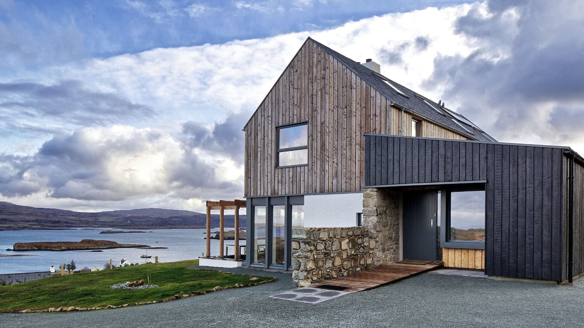 Colbost rural design architects isle of skye and the for Modern barn design