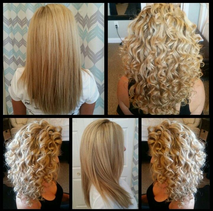 Beautiful Tight Curls Created With A 3 8 Curling Iron Curls For Long Hair Medium Hair Styles Curled Hairstyles