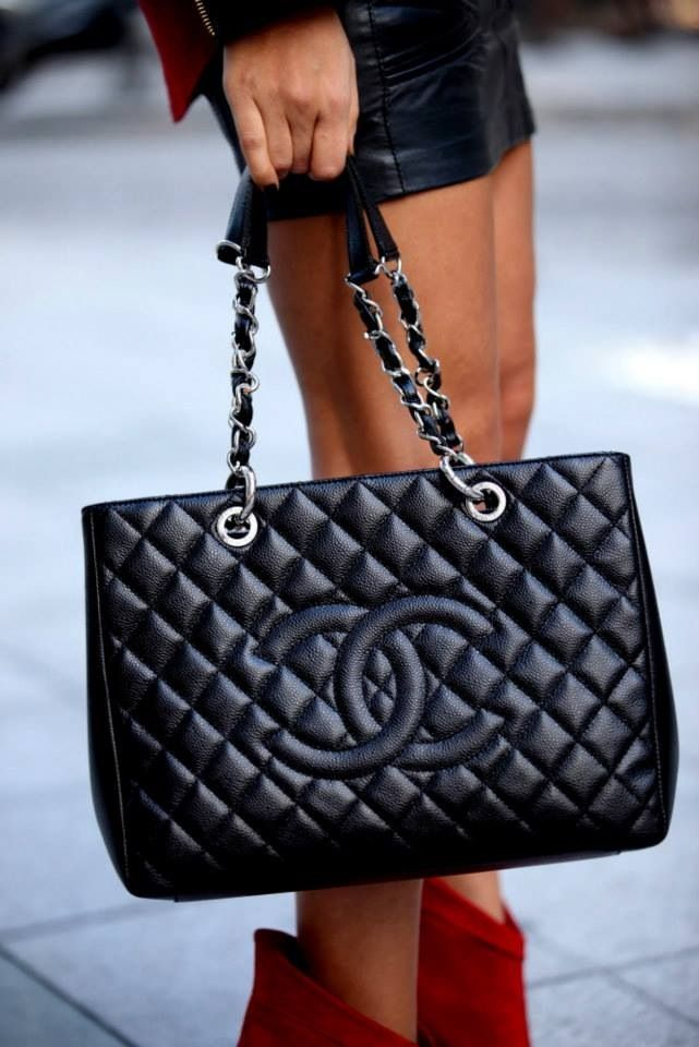 559c3dcefc17 Every girl needs a classic black Chanel!