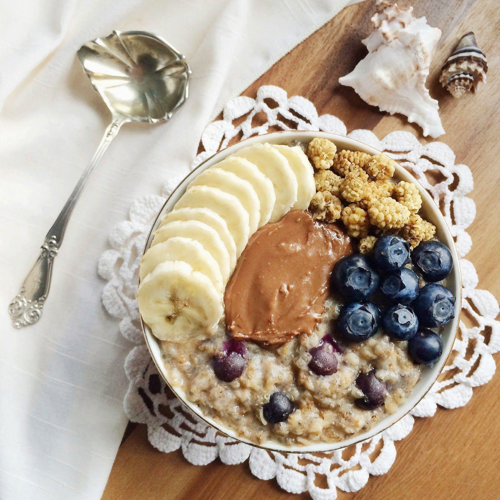 Whole and Healthy: Blueberry Lemon Lucuma Porridge