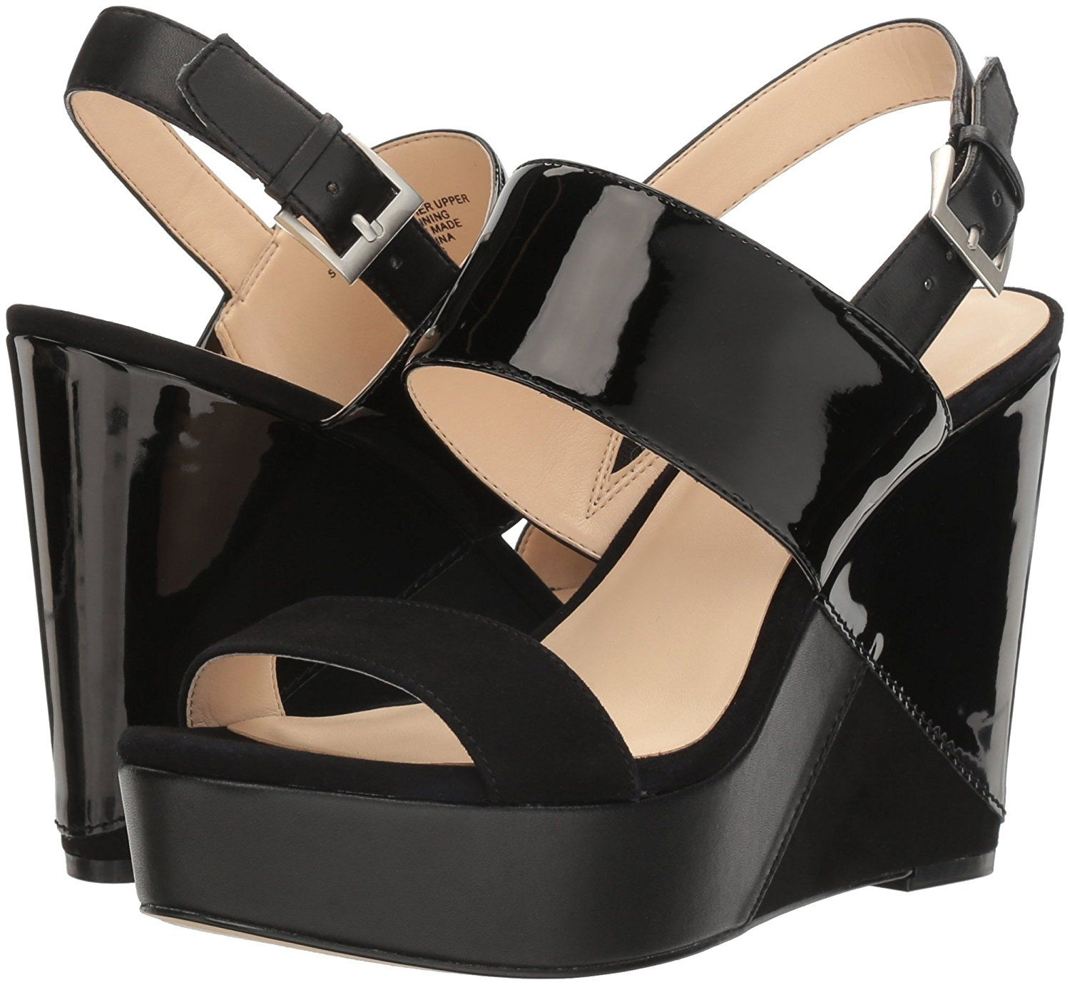 Nine West Womenus Dreamz Synthetic Wedge Sandal To view further