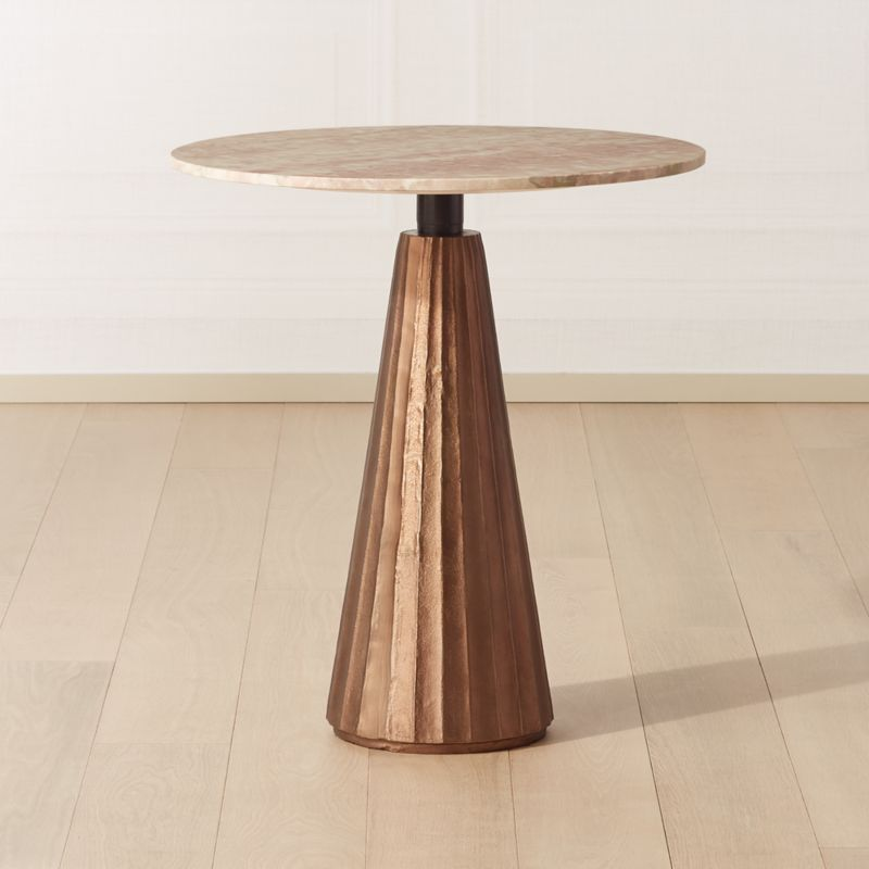 Aero Marble Round Dining Table Dining Table Marble Round Marble