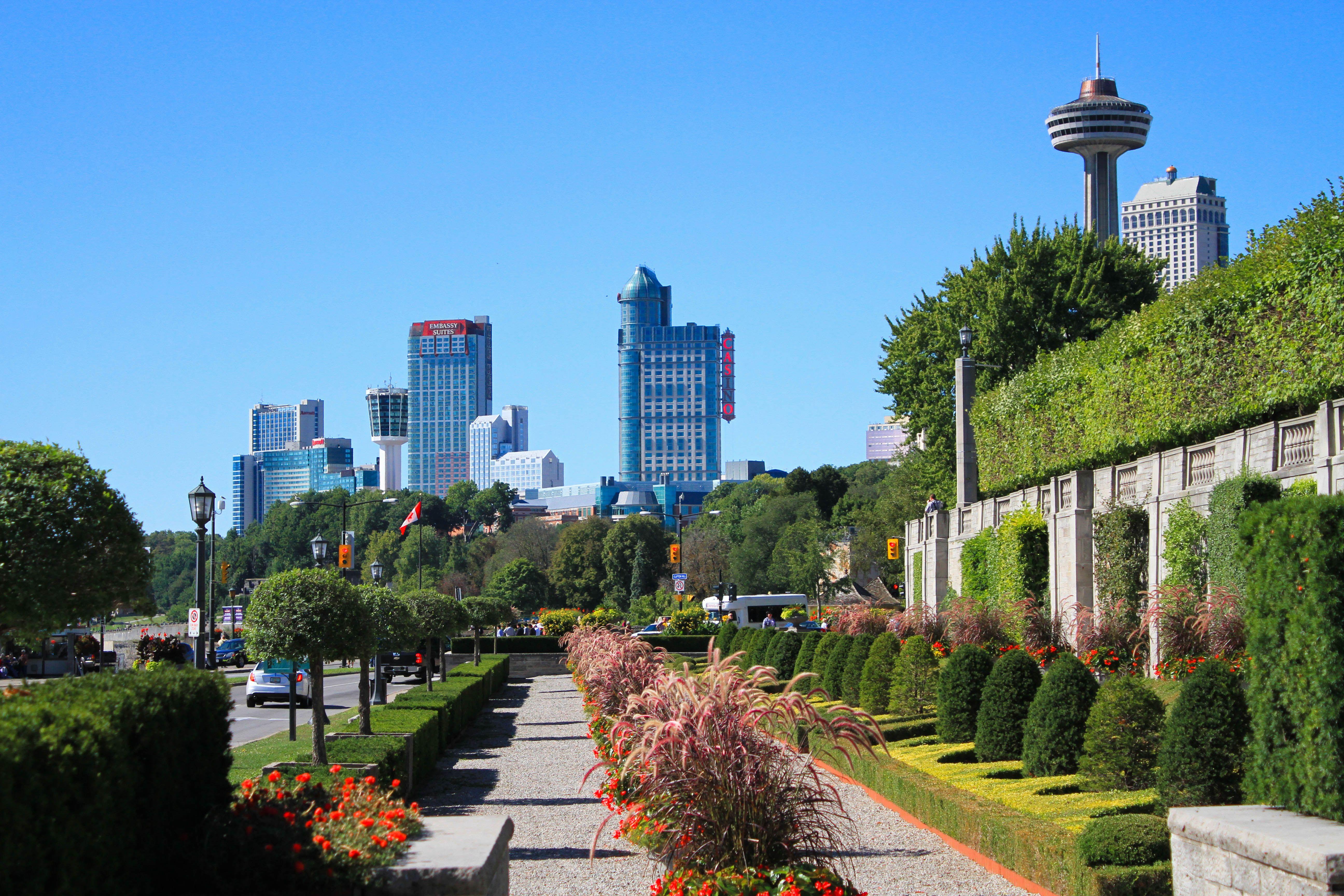 NIAGARA FALLS Seattle skyline, Skyline, Niagara falls