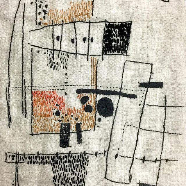 Aideen Canning Embroidery Stitches Bordado Contemporaneo