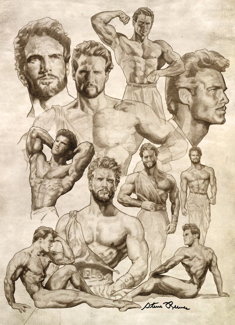 steve reeves rare photos