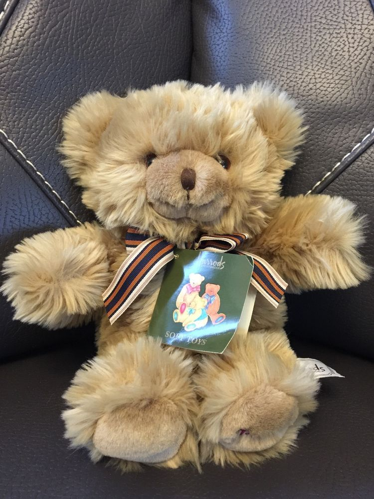 Harrods Knightsbridge Teddy Bear Soft Toy   Rare Collectors Item Great For  Xmas #Harrods Awesome Ideas