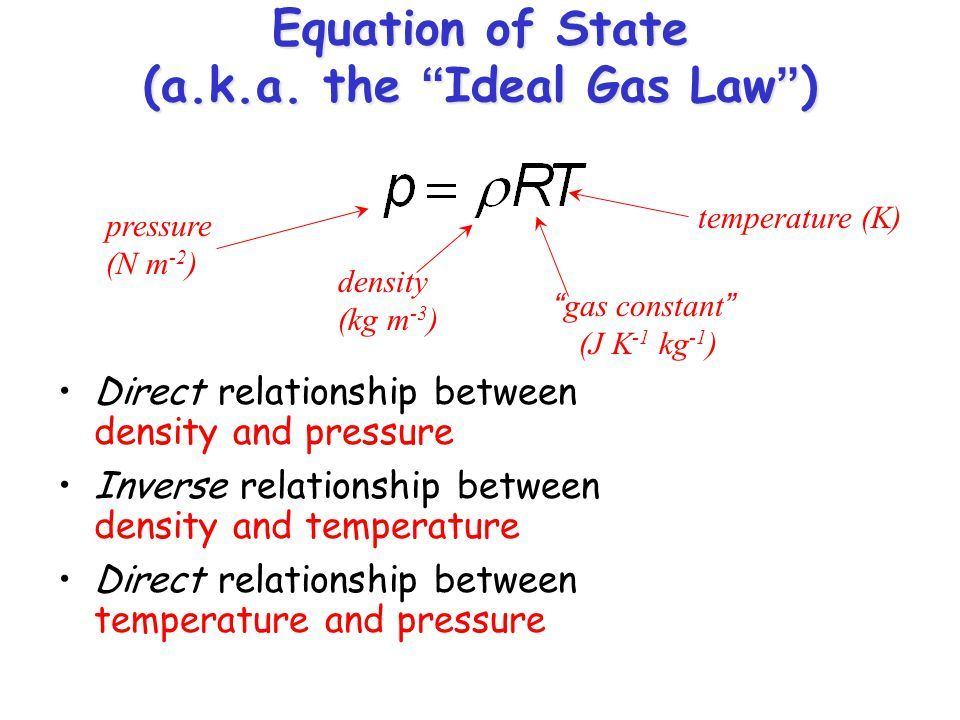 Image Result For Equation Of State Ideal Gas Law Gas Constant Chemistry