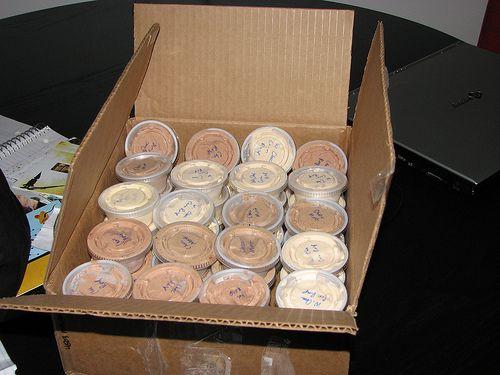 Boozey pudding shots