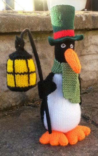Noel The Carol Singing Penguin Knitting Project By Maria R