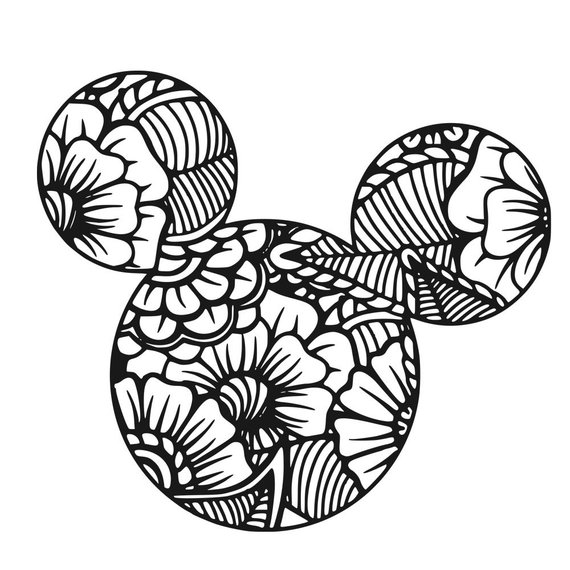 Mickey Mouse Colouring Page Mickey Mouse Coloring Pages