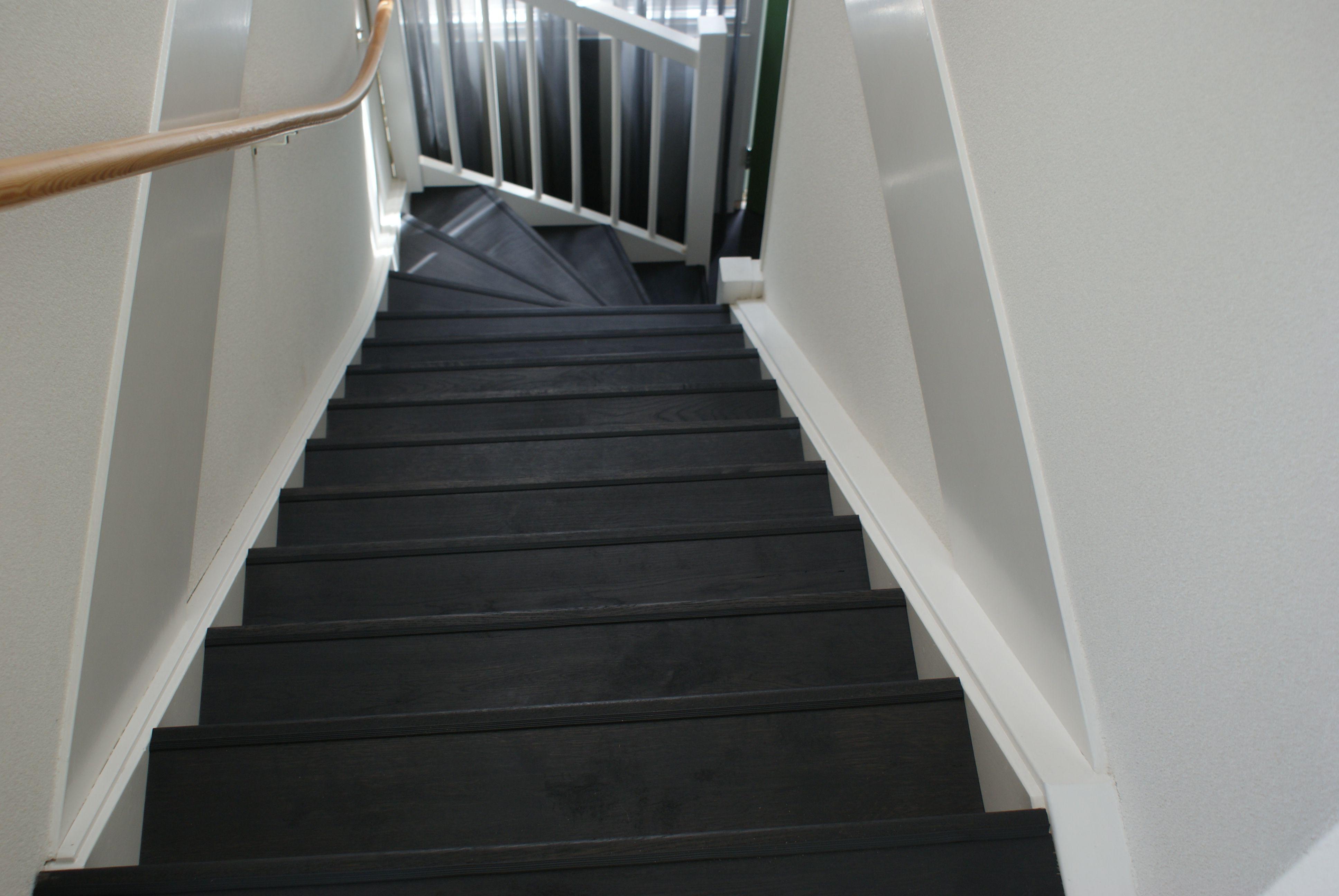 Zwarte vloer beboparket houtenvloer laminaat interieur