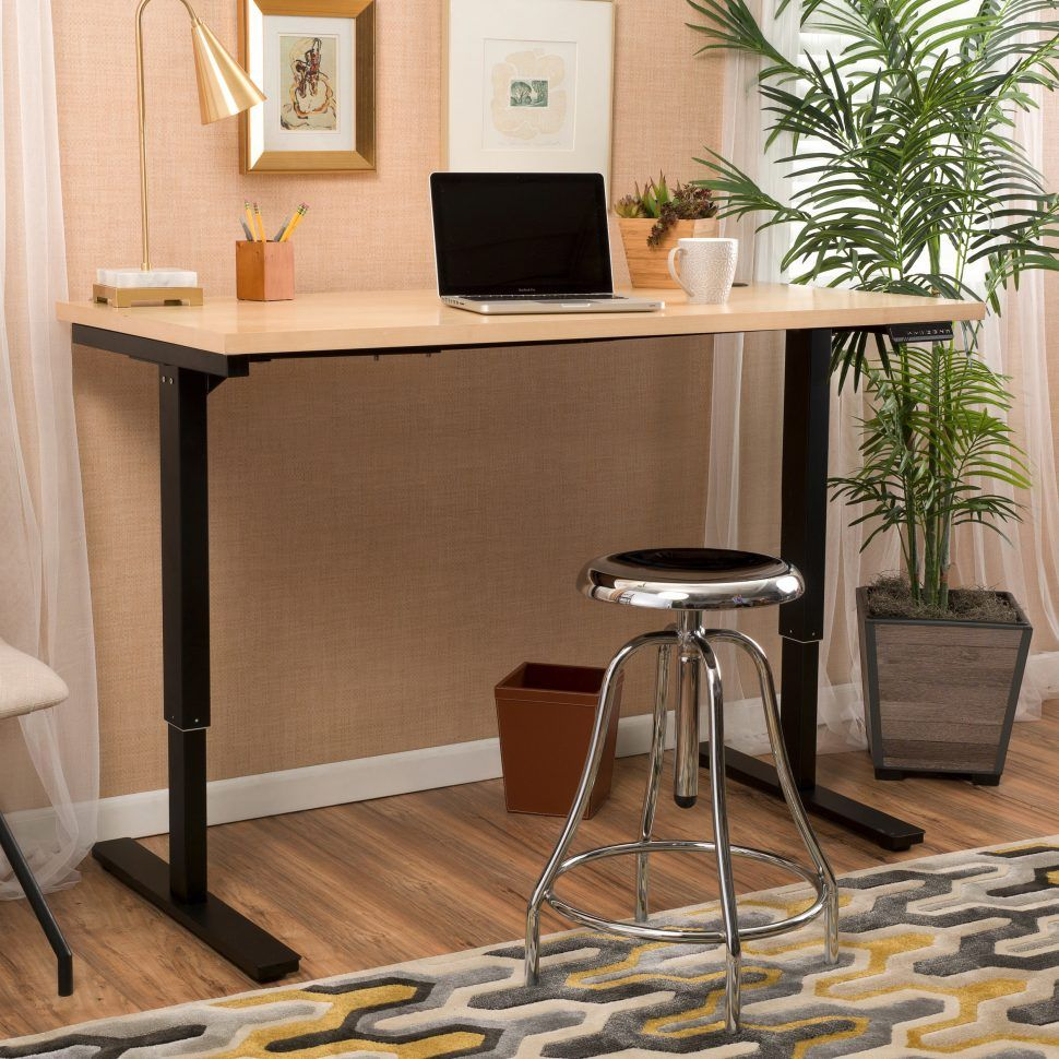 Counter height office desk furniture sets for living